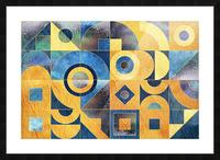 Geometric XXXXXVII Picture Frame print