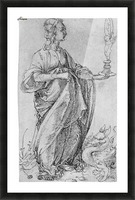 Drawing from the tarot-prudence Picture Frame print