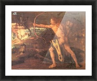 Hercules and the Stymphalian Birds Picture Frame print