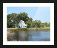 Peaceful Pond Picture Frame print