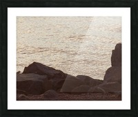 Rocky Shore 2 Picture Frame print