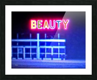 Neon Picture Frame print