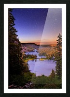 Twin Magic Picture Frame print