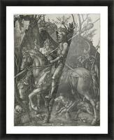 German knight Picture Frame print