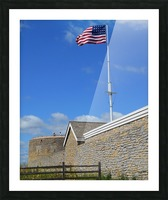 Historic Fort Snelling Picture Frame print