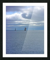 Tall Ships Vista Picture Frame print
