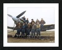 Members of 403 Squadron RCAF February 12 1942 Picture Frame print