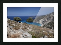The Greek island of Kefalonia Picture Frame print