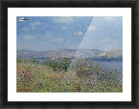 The Banks of the Seine, Tournedos-sur-Seine Picture Frame print