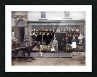Chas Anderson Grocery Vancouver 1890s Picture Frame print