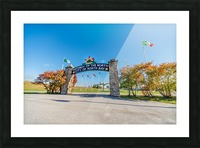 Gateway to The North Picture Frame print