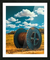 Lonely Spool Picture Frame print