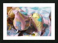 Painted Roses.13 Picture Frame print