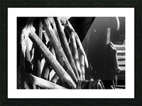 Wagon Wheels.01 Picture Frame print