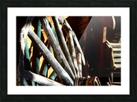 Wagon Wheels.04 Picture Frame print