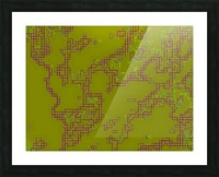 Abstract 5 Picture Frame print
