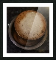 Indian Filter Coffee Picture Frame print