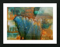 Elephant and Warrior Picture Frame print