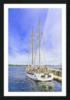 Mar Sailboat in Halifax Picture Frame print