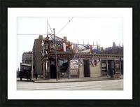 McGreevys Third Base Saloon Boston 1903 Picture Frame print