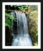 LIttle Hong Kong Park Waterfall Picture Frame print