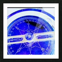 compass Picture Frame print