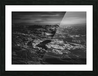Secret Mountain Place Picture Frame print