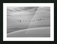 The Journey  Picture Frame print