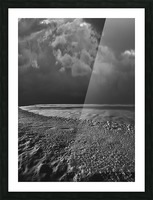 Night Shapes Picture Frame print