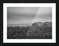 Haystacks Picture Frame print
