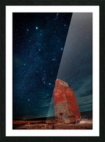Dorothy Elevator Milky Way Picture Frame print