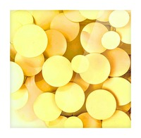 yellow circles Picture Frame print
