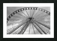 Height B&W Picture Frame print