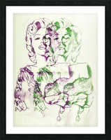 Marilyn Monroe double soul Picture Frame print