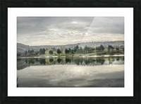 Autumn Lake Reflections Picture Frame print