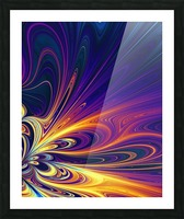 Abstract Composition 374 Picture Frame print