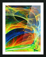 Abstract Composition 395 Picture Frame print