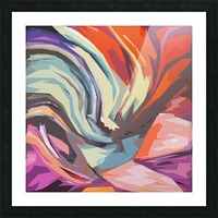Abstract Composition 744 Picture Frame print