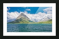 Mount Grinnell Picture Frame print