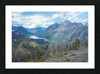 Two Medicine at Glacier National Park Picture Frame print