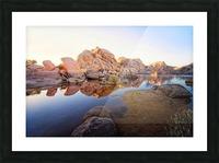 Barker Dam at Sunset Picture Frame print