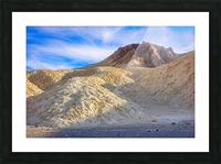 Badlands of Death Valley Picture Frame print