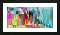 Abstract Composition 643 Picture Frame print