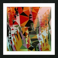 Abstract Composition 636 Picture Frame print