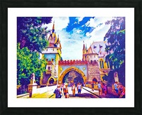 Vajdahunyad Castle Picture Frame print