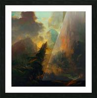 Fierce Landscape Picture Frame print