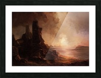 Lonesome Plains Picture Frame print