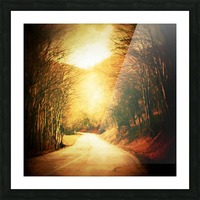 Autumnal Landscape 2 Picture Frame print