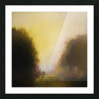 Impressionist landscape Picture Frame print