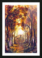 Autumn Memories Picture Frame print